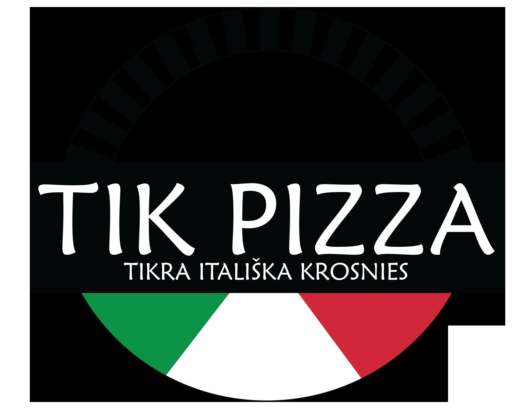 TK pizza LOGO- 10x10 cm