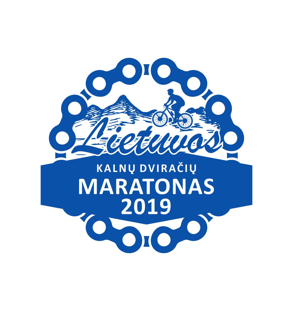 kalnu dviraciu maratono logo
